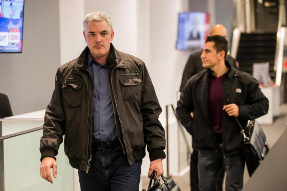 L'enquêteur du SPVM Normand Borduas (à gauche) a... (Photo Edouard Plante-Fréchette, La Presse)