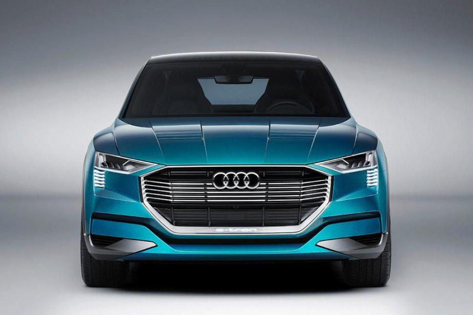 Audi veut maintenant créer une large gamme électrique... (PHOTO FOURNIE PAR LE CONSTRUCTEUR)