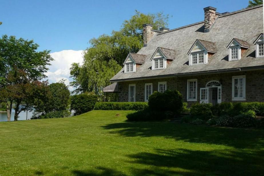 La Maison Trestler est située à Vaudreuil-Dorion,sur le... (Photo tirée du site web de la Maison Trestler)