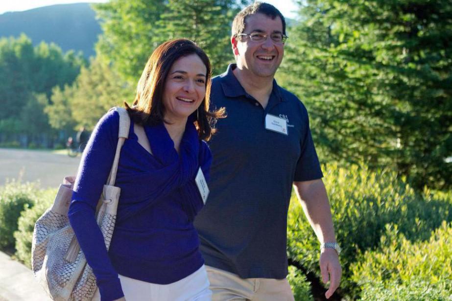 Sheryl Sandberg, numéro 2 du réseau social Facebook,... (Photo archives Associated Press)