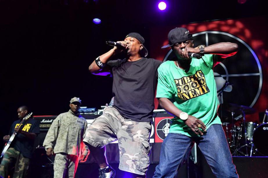 Le groupe de hip-hop Public Enemy lancera son... (PHOTO MARK ALLAN, ARCHIVES INVISION/ASSOCIATED PRESS)