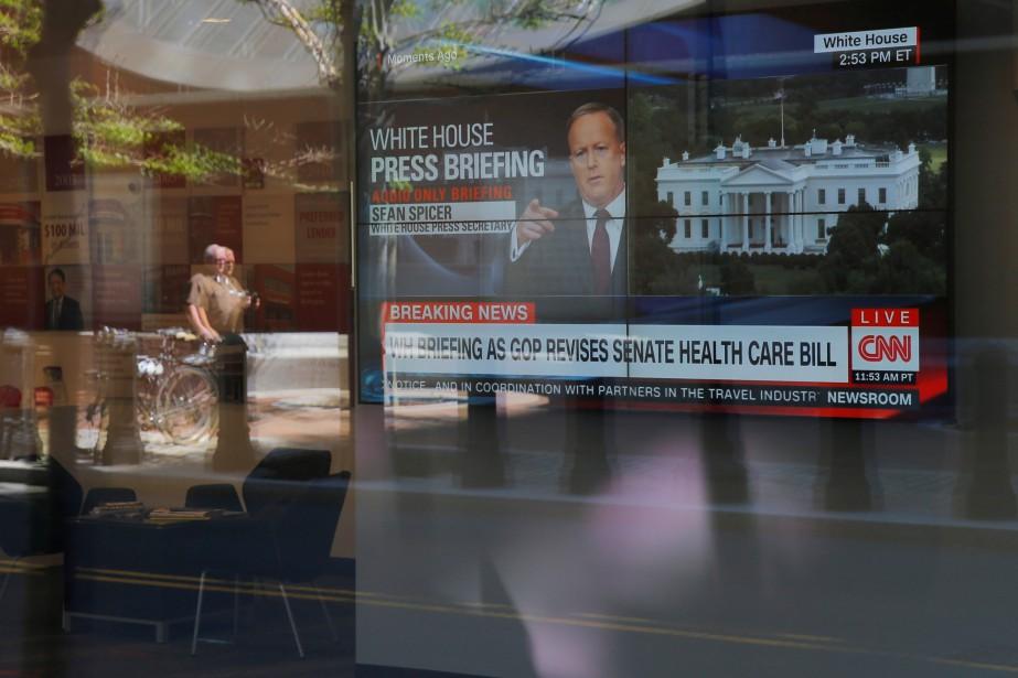 La chaîne CNN ressort meurtrie de l'affaire, elle... (PHOTO REUTERS)
