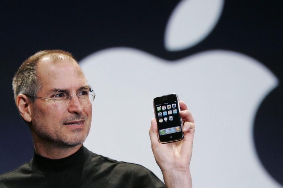 L'iPhone a été présenté au grand public le... (Photo Paul Sakuma, archives ASSOCIATED PRESS)