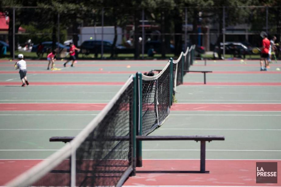 Exclus des courts montréalais, des entraîneurs de tennis... (PhotoIvanoh Demers, La Presse)