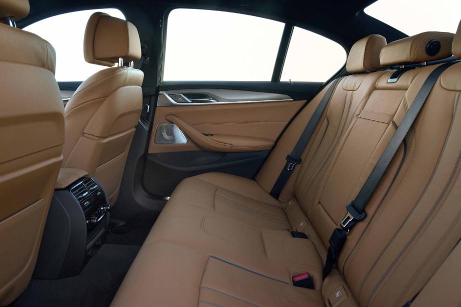 L'intérieur dela BMW SéŽrie 5 (Photo fournie par BMW AG)