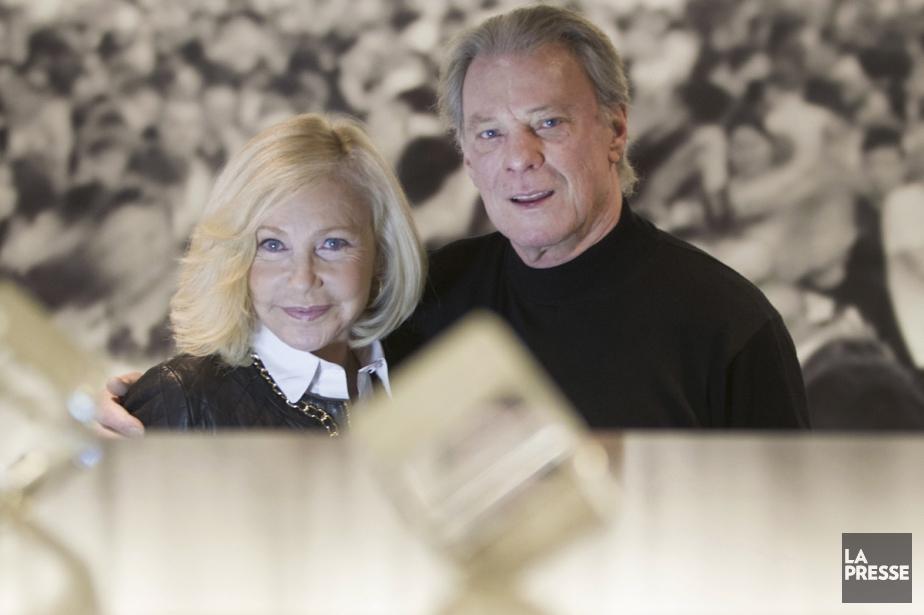 Herbert Léonard photographié avec Michelle Torr en février... (PHOTO IVANOH DEMERS, ARCHIVES LA PRESSE)