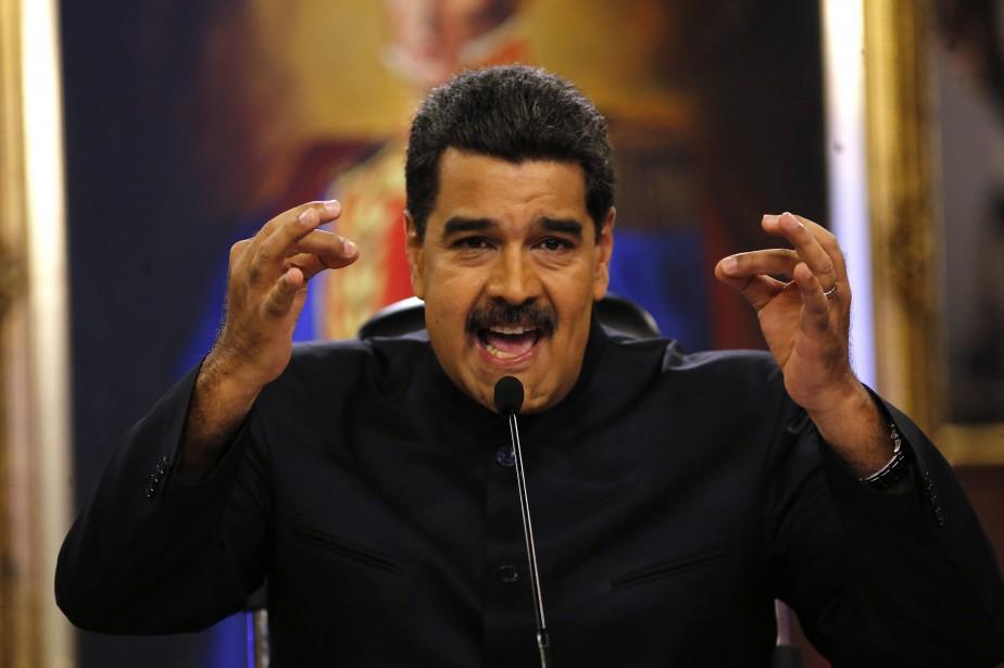 Le président vénézuélien Nicolas Maduro... (PHOTO Ariana Cubillos, ARCHIVES AP)