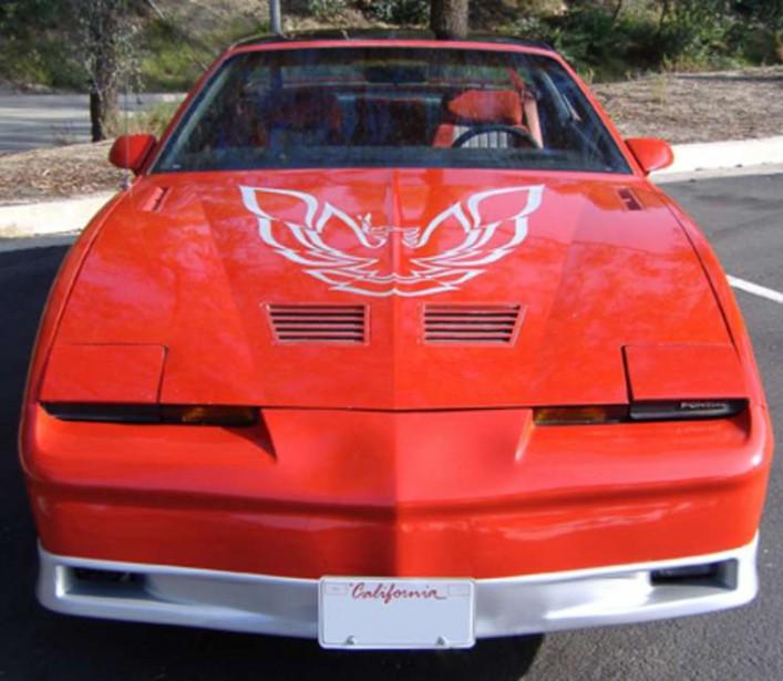 <strong>La voiture qui a marqué son enfance : </strong>la Pontiac Trans Am appartenant à la grande soeur de sa meilleure amie. C'est dans ce «vieux bazou» qu'elles planifiaient leurs bons et mauvais coups. (Photo : Wikipédia)