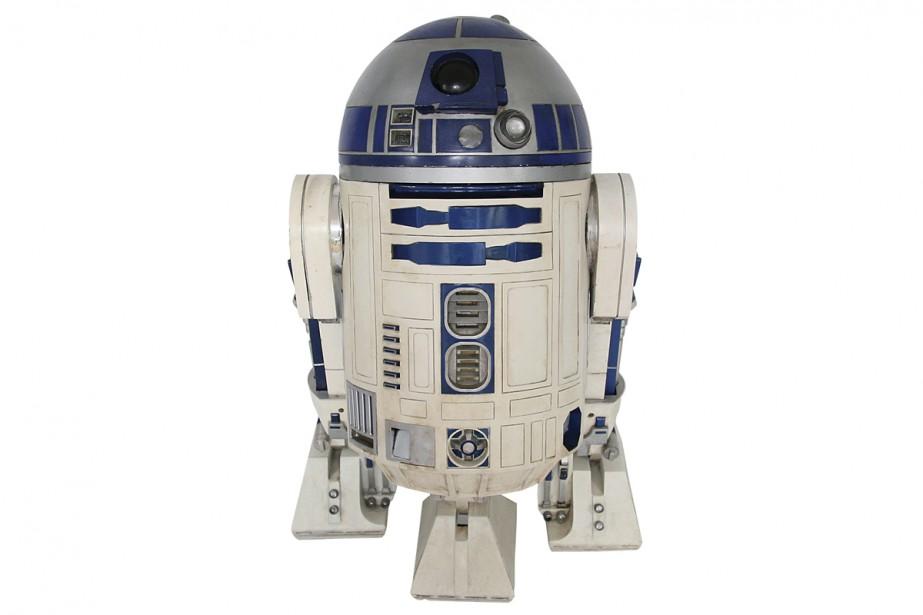 Un robot R2-D2 utilisé dans plusieurs films de Star Wars a... (PHOTO AP)