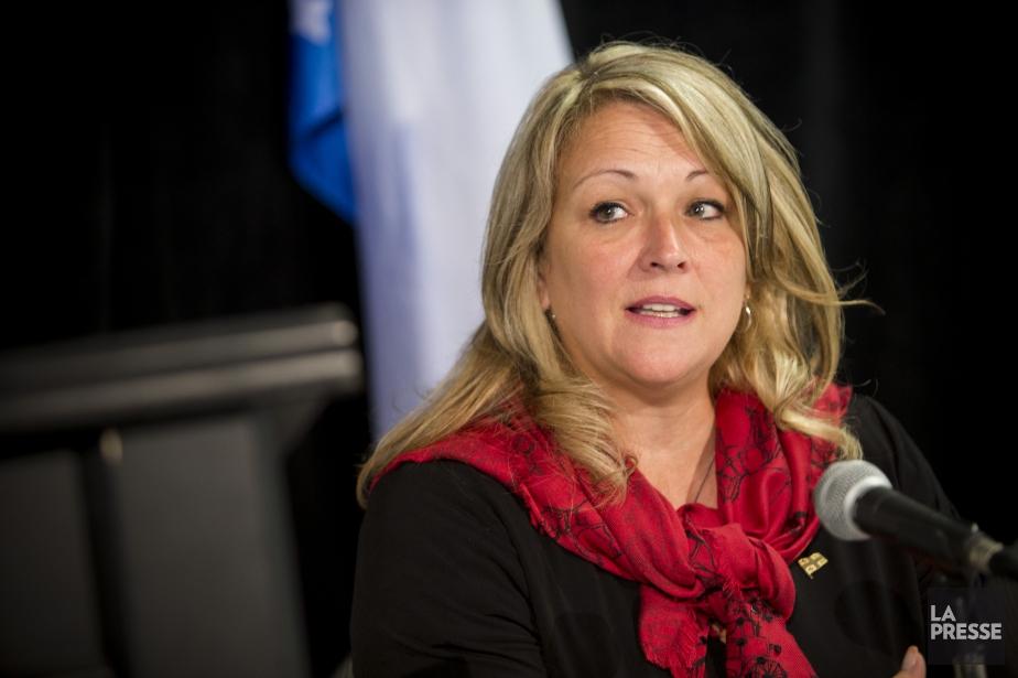 La ministre responsable de la Condition féminine, Lise... (Photo Sarah Mongeau-Birkett, archives La Presse)