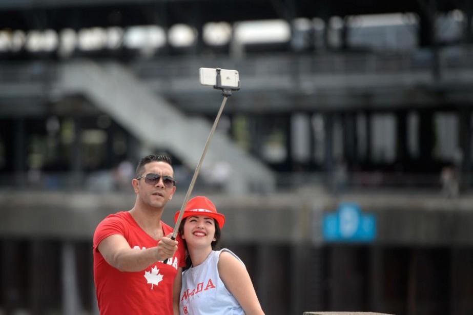 Les célébrations de la fête du Canada à... (PHOTO BERNARD BRAULT, ARCHIVES LA PRESSE)