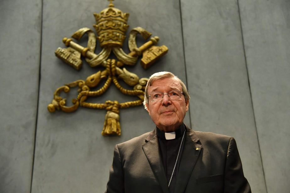 George Pell avait été accusé dès 2002 d'abus... (ARCHIVES AFP)