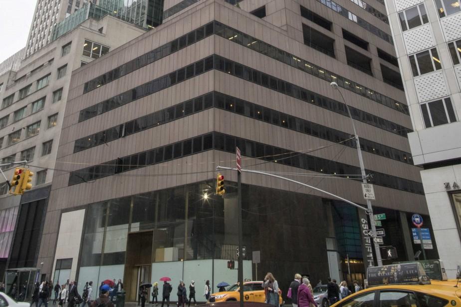 L'immeuble est au 650 Fifth Avenue.... (ARCHIVES AP)