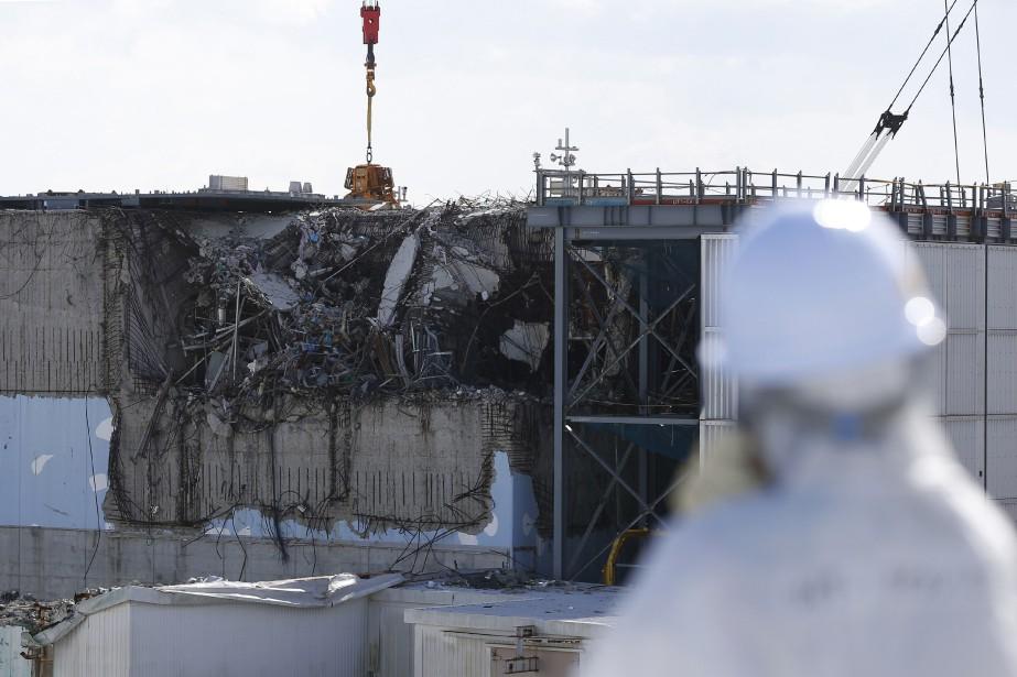 La centrale de Fukushima a été en partie... (PHOTO ARCHIVES AFP)