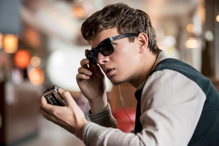 Ansel Elgort dans Baby Driver.... (Photo fournie par Sony Pictures)