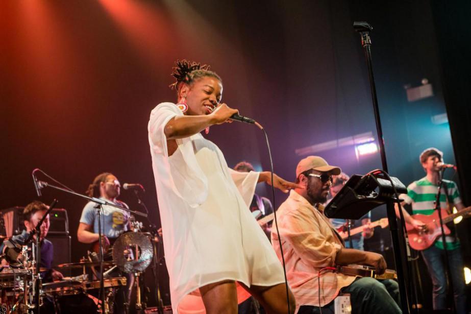 Le concert de Bokanté au Club Coda, hier... (PHOTO EDOUARD PLANTE-FRéCHETTE, LA PRESSE)