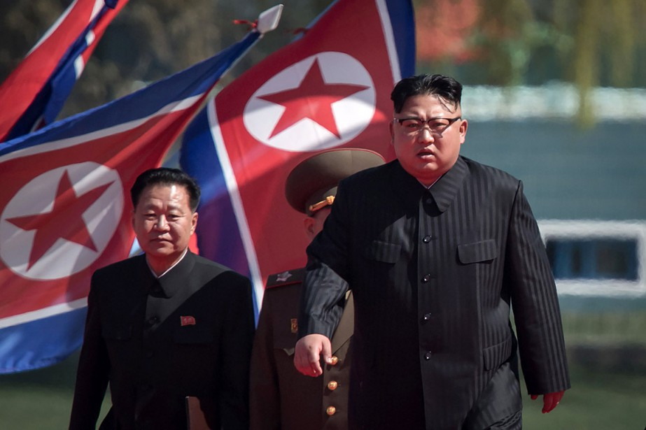 Le leader nord-coréen, Kim Jong-un... (PHOTO ED JONES, ARCHIVES AFP/ED JONES)