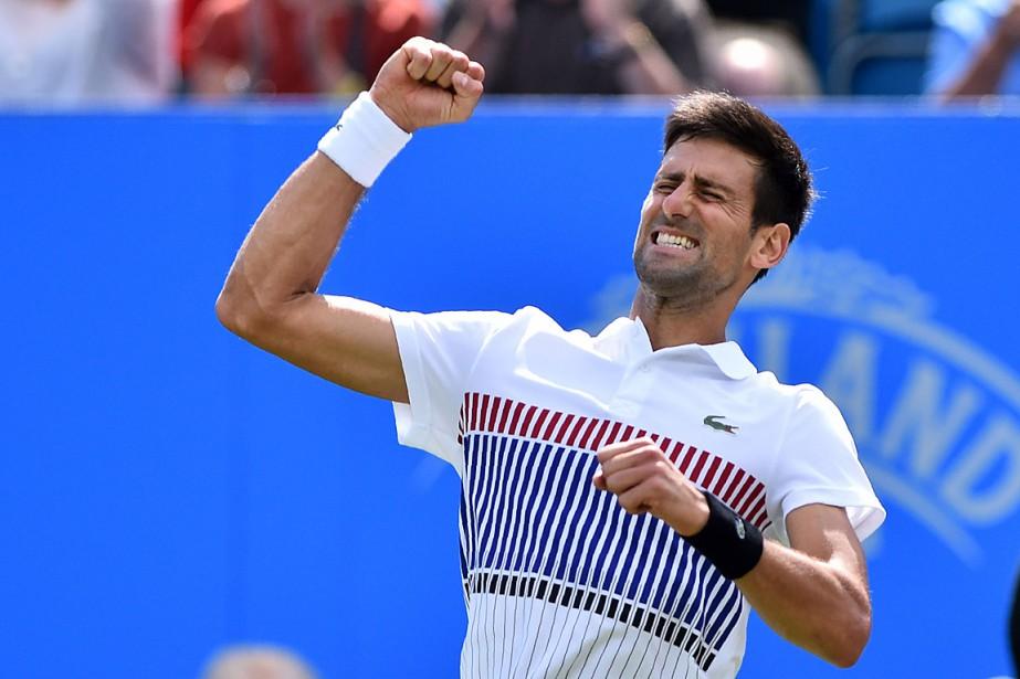 Novak Djokovic... (PHOTO GLYN KIRK, AGENCE FRANCE PRESSE)