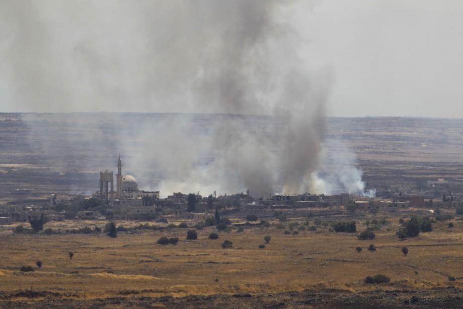Le plateau du Golan est une zone de... (Photo AFP)
