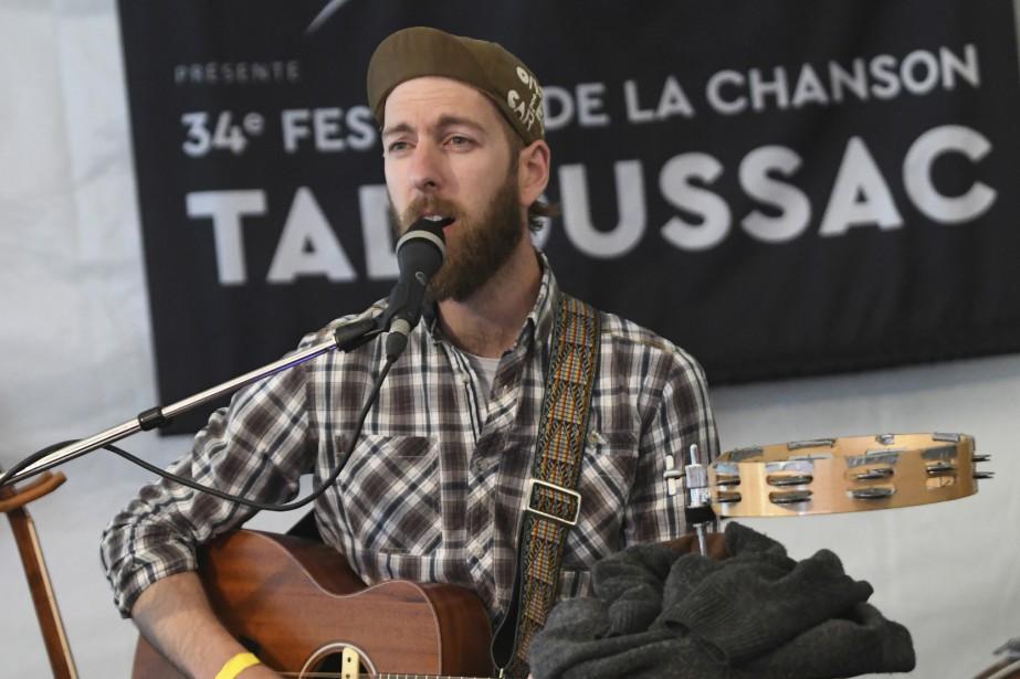 Maxime Augusteau Festival de la chanson de Tadoussac. (Le Quotidien, Michel Tremblay)