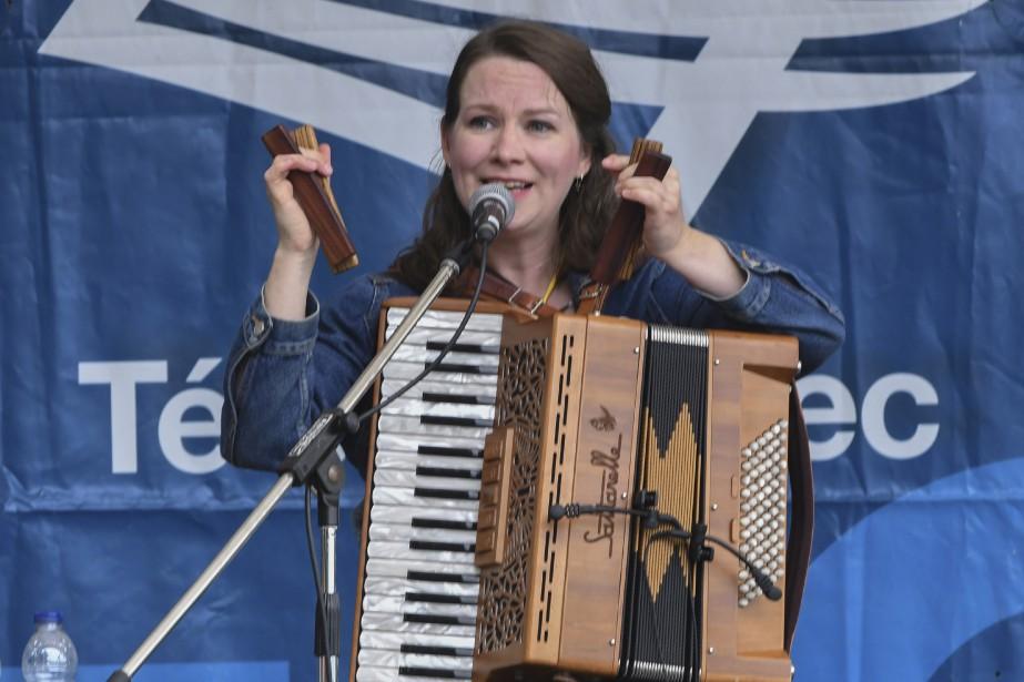 Mary Beth Cartyau Festival de la chanson de Tadoussac. (Le Quotidien, Michel Tremblay)