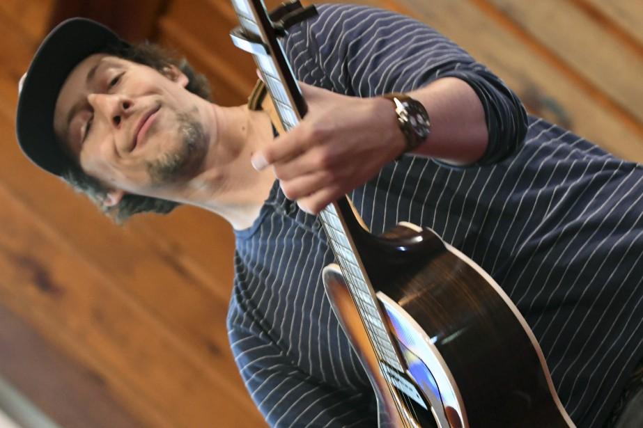Patrice Michaud au Festival de la chanson de Tadoussac. (Le Quotidien, Michel Tremblay)