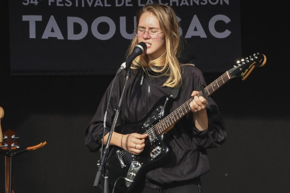 Lydia Képinski au Festival de la chanson de Tadoussac. (Le Quotidien, Michel Tremblay)