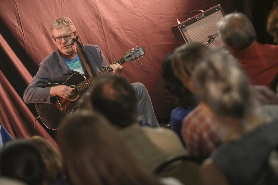 Dick Annegarn au Festival de la chanson de Tadoussac. (Le Quotidien, Michel Tremblay)