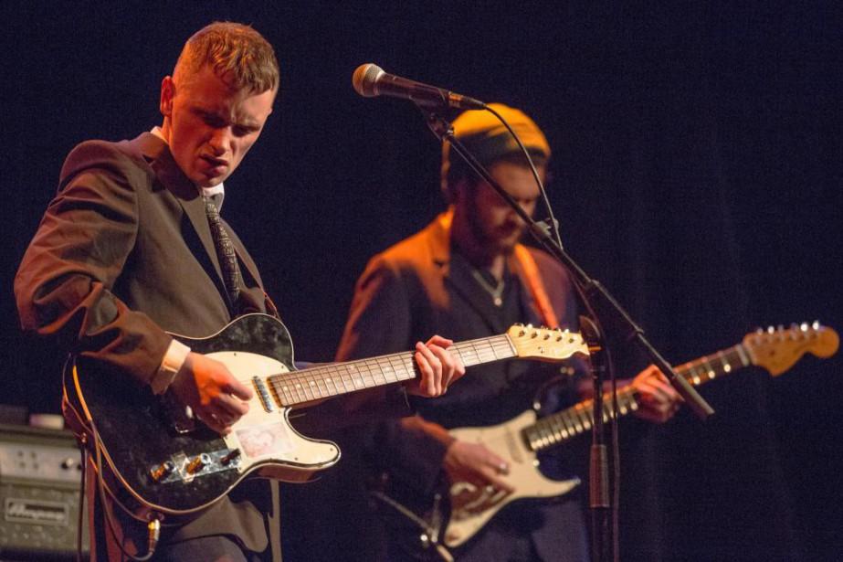 Jacob Allen, alias Puma Blue, était en concert... (PHOTO SIMON GIROUX, LA PRESSE)