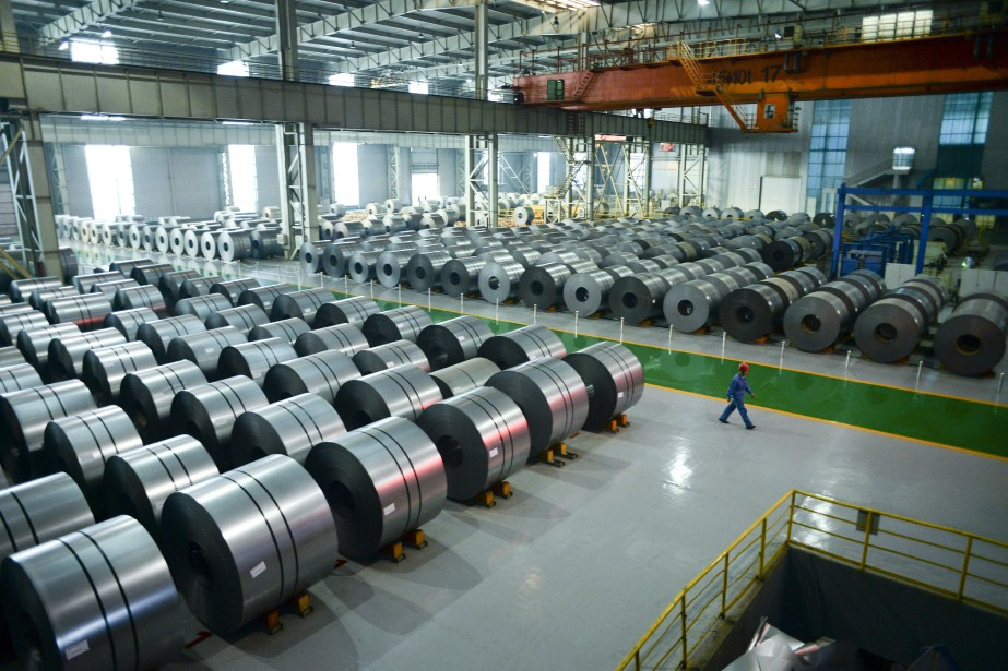 «Le secteur manufacturier s'est légèrement ressaisi, mais si... (AFP)