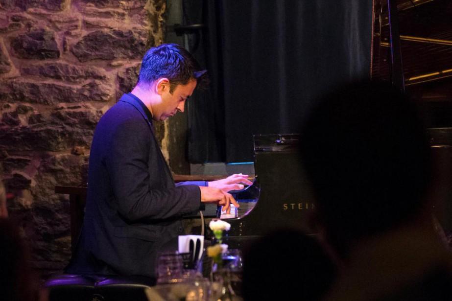 Le pianiste et compositeur new-yorkais VijayIyer a ravi... (Photo Robert Skinner, La Presse)