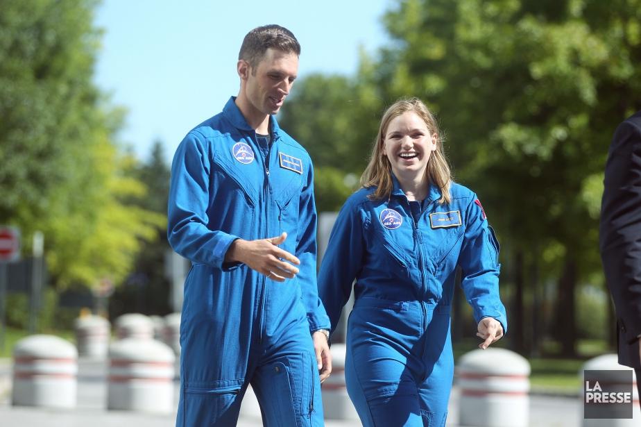 Joshua Kutryk et Jennifer Sidey, les deux nouveaux... (Photo Martin Chamberland, La Presse)