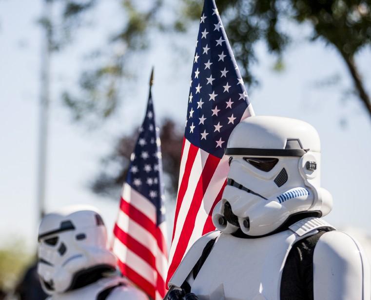 Ces Stormtroopers participaient à un défilé à Summerlin au Nevada | 4 juillet 2017