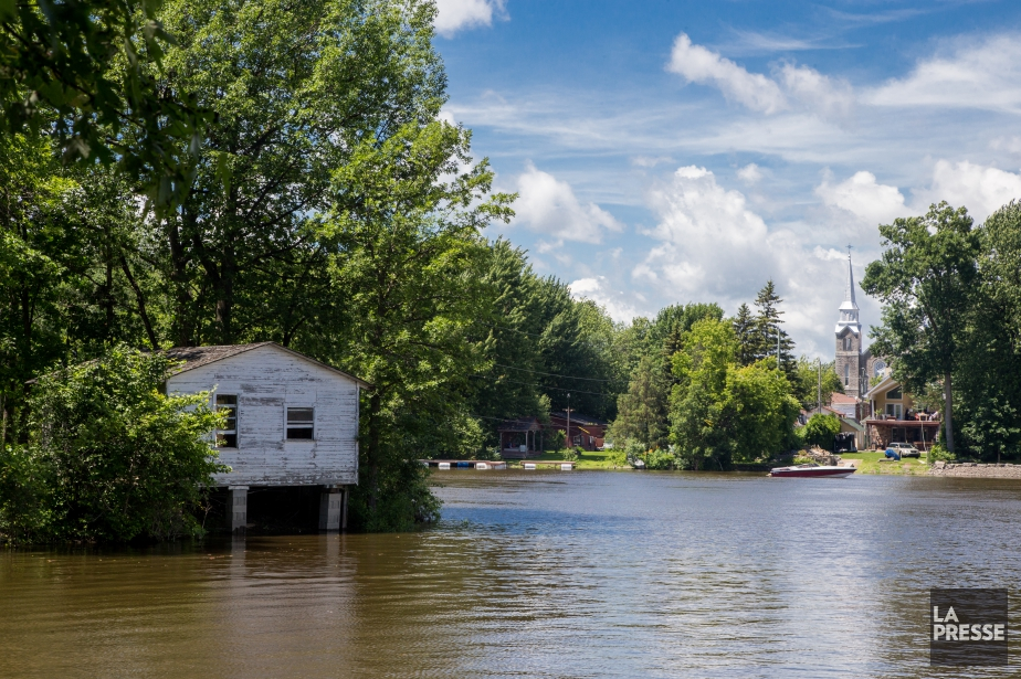 Deux mois après les inondations qui ont touché... (Archives La Presse, Martin Tremblay)