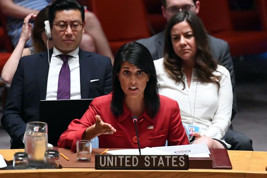«Les États-Unis sont prêts à utiliser toute la... (PHOTO AFP)