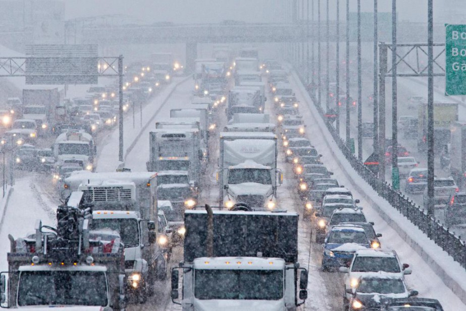 Le nombre de routes qui seront dorénavant déneigées... (PHOTO PATRICK SANFAÇON, ARCHIVES LA PRESSE)