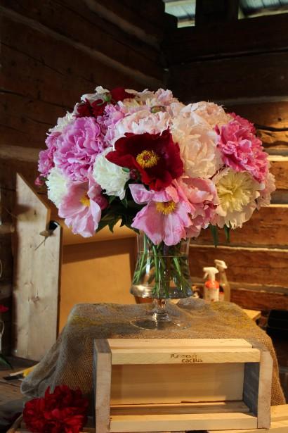 Si vous êtes de ceux et celles qui n'ont pas besoin d'occasion spéciale pour acheter un bouquet de fleurs fraîches, une visite s'impose à la ferme florale. ()