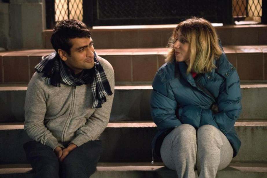 Kumail Nanjiani et Zoe Kazan dans The Big... (Photo fournie par Lionsgate)