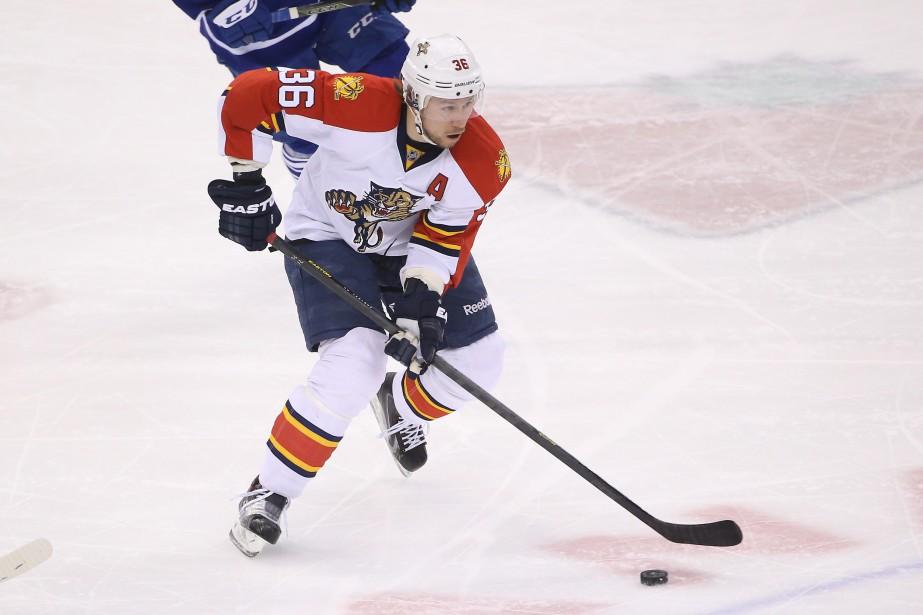 Jussi Jokinena récolté 28 points en 69 matchs... (Photo Tom Szczerbowski, USA Today Sports)