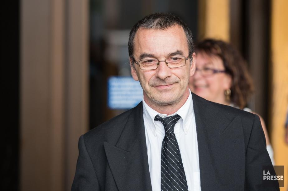 Michel Cadotte, accusé d'avoir tué sa femme atteinte... (PHOTO SIMON GIROUX, LA PRESSE)