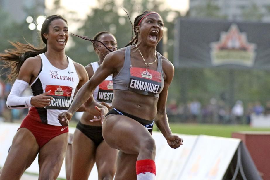 Crystal Emmanuel, la reine du 100m au Canada... | 2017-07-07 00:00:00.000