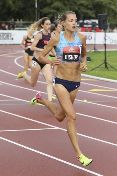 Melissa Bishop se qualifie facilement aux 800 mètres. | 7 juillet 2017