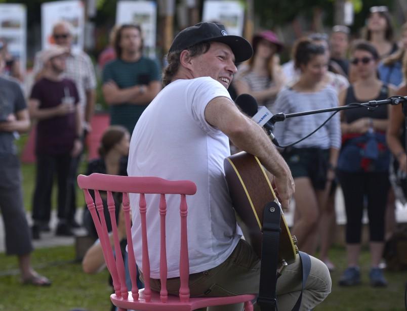 Fred Fortin, pop-up FEQ au SPOT, 9 juillet   9 juillet 2017