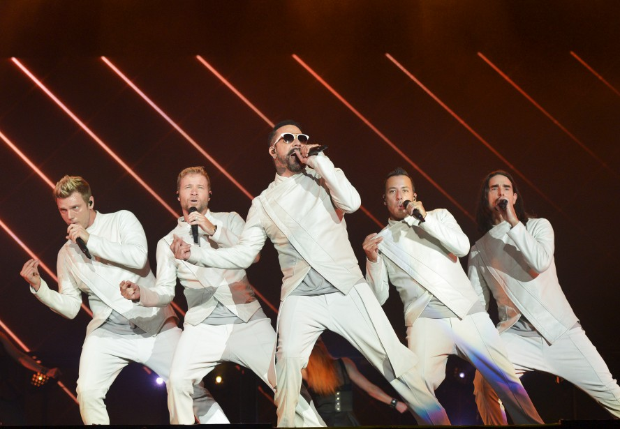 Backstreet Boys, plaines d'Abraham, 9 juillet...   2017-07-09 00:00:00.000