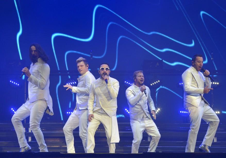 Backstreet Boys, plaines d'Abraham, 9 juillet   9 juillet 2017