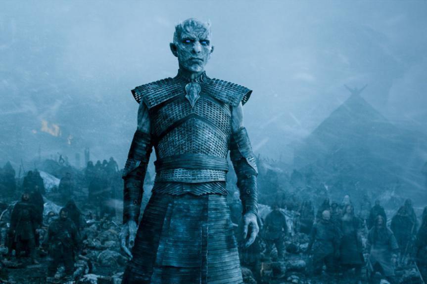 Les Marcheurs blancs et l'hiver seront au coeur... (Photo fournie par HBO)