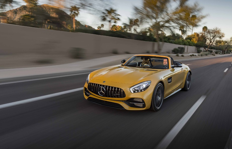 Mercedes AMG-GT C (La Presse)