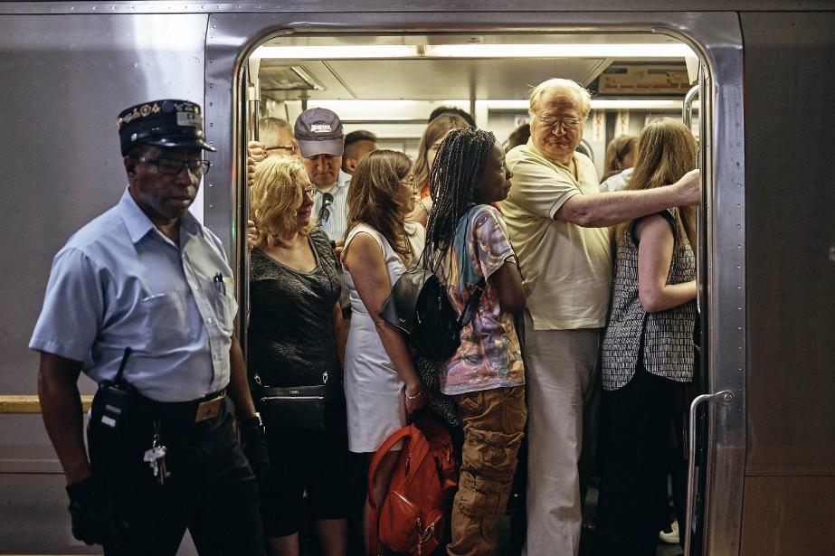 Toute la ville de New York est aujourd'hui... (PHOTO AP)