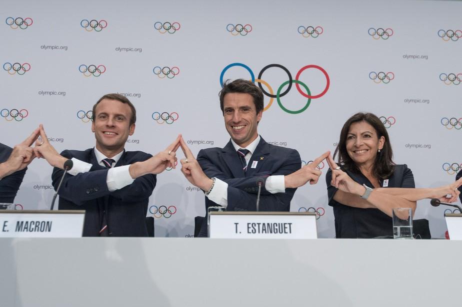 Le président de la France, Emmanuel Macron, le... (Photo archives AFP)