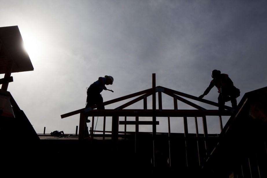 Dans l'ensemble, les mises en chantier des centres... (Photo archives Bloomberg)